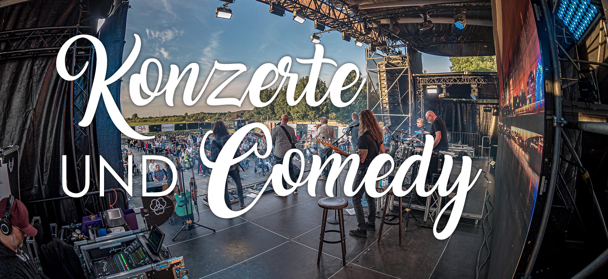 Konzerte und Comedy