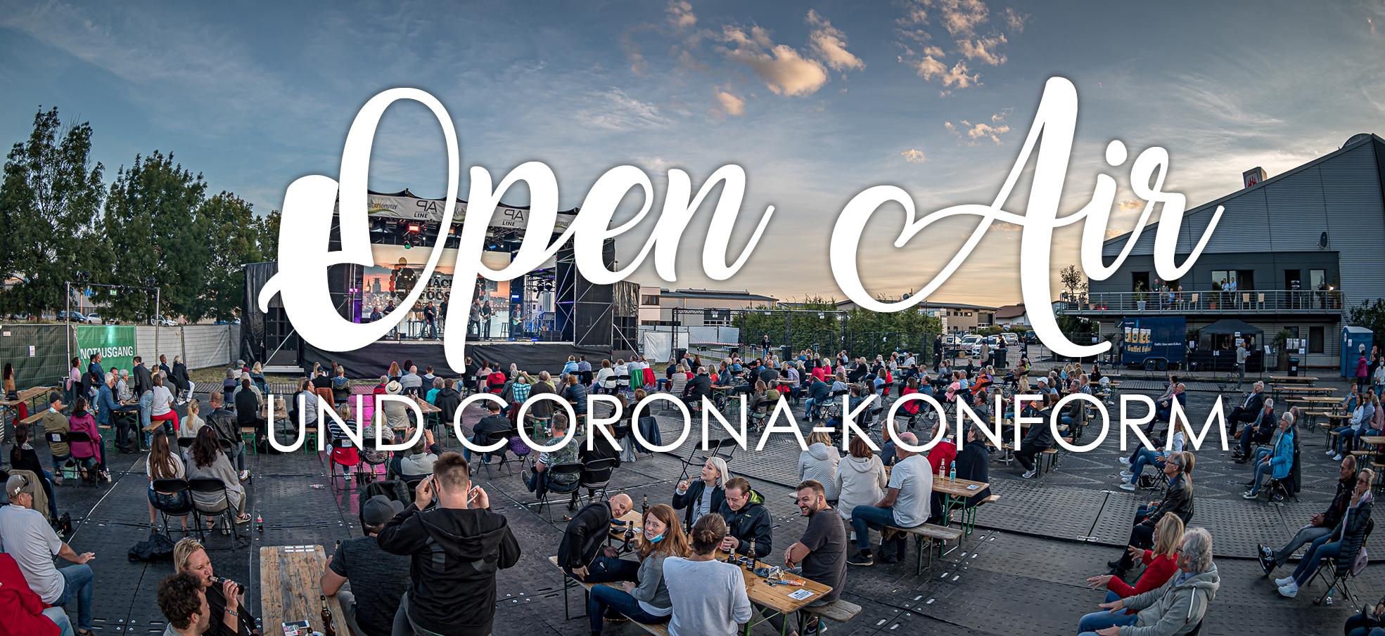 Open Air und Corona-konform